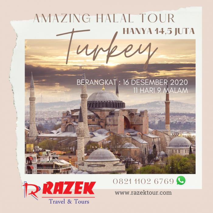 PROMO AMAZING TURKI RAZEK