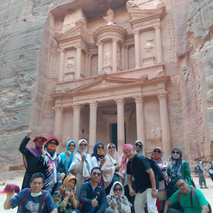 Razek Tour di Petra Jordania